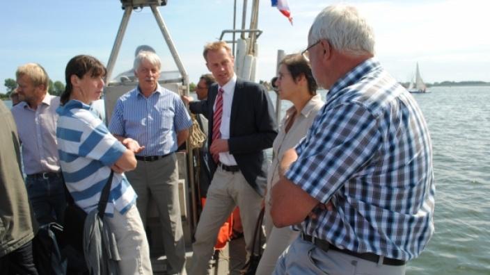 Existenz-Sorgen der Schlei-Fischer gehen beim Ministerpräsidenten ins Leere